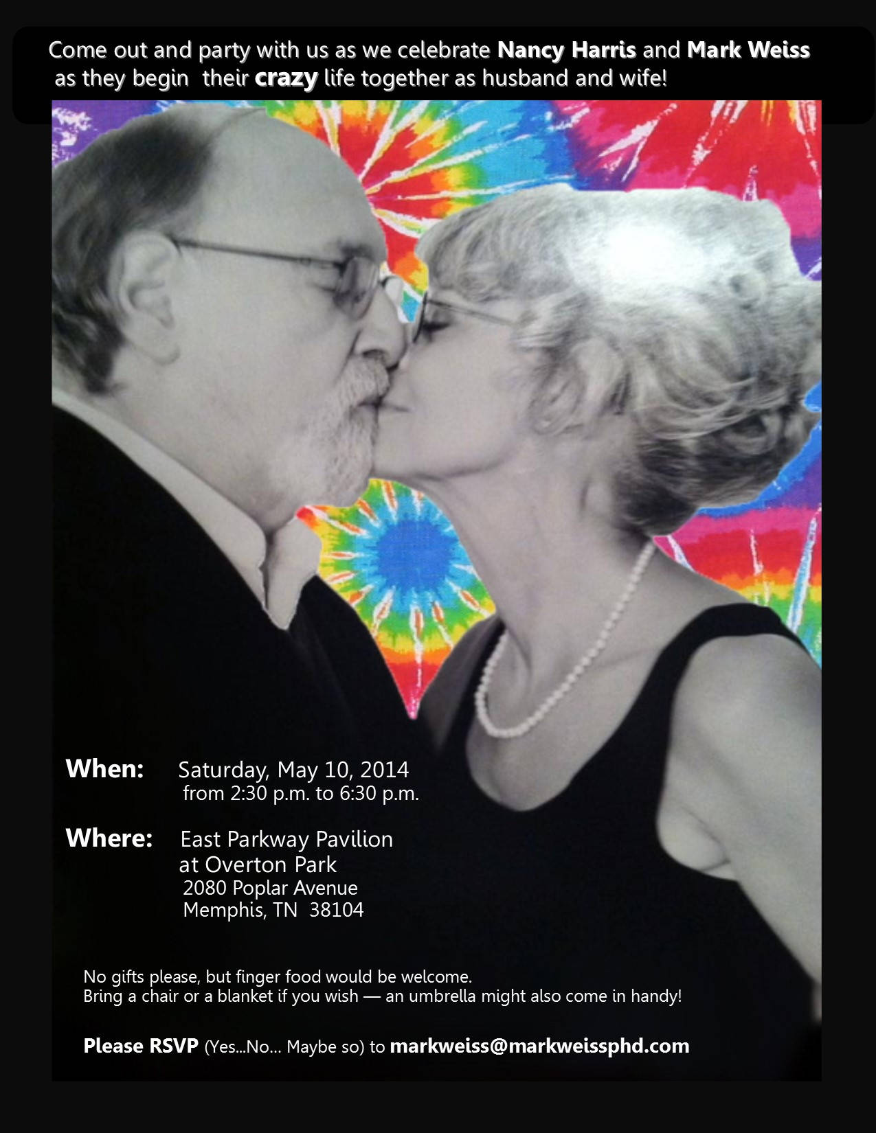 Wedding of Nancy Harris and Dr. Mark Weiss